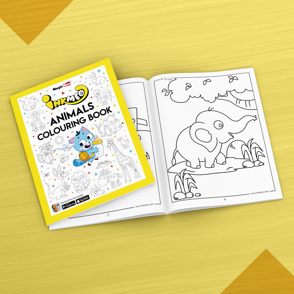 Animals Colouring Book - Inkmeo
