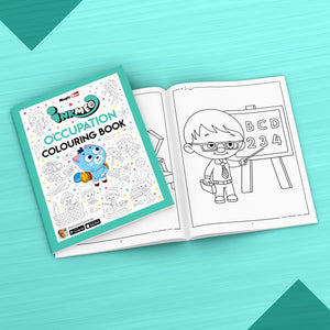 Occupation Colouring Book - Inkmeo