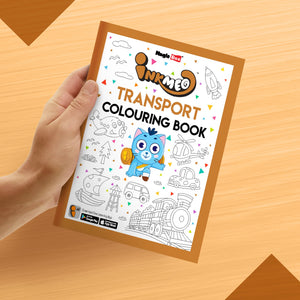 Transport Colouring Book - Inkmeo