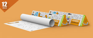 Numbers Colouring Roll (12 inch) - Inkmeo