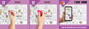 Find the Hidden Object Colouring Roll (12 inch) - Inkmeo