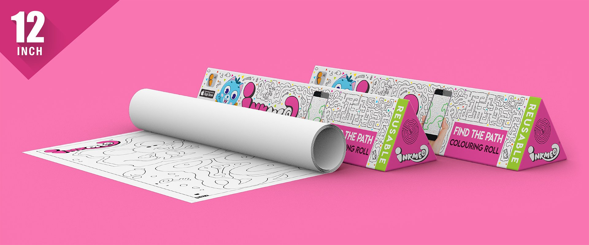 Find the Path Colouring Roll (12 inch)
