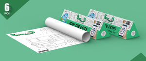 Join the Dots Colouring Roll ( 6 inch) - Inkmeo