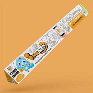 Spot the Difference Colouring Roll (18 inch) - Inkmeo