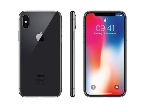 iPhone X AT&T 256 GB Space Gray-Dr Phonez