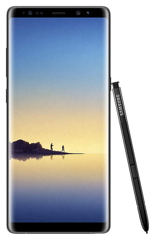 Samsung Galaxy Note 8 N950 Factory Unlocked Phone 64GB Midnight Black - Drphonez.com