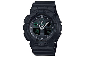 G Shock Full Black Military Style Watch