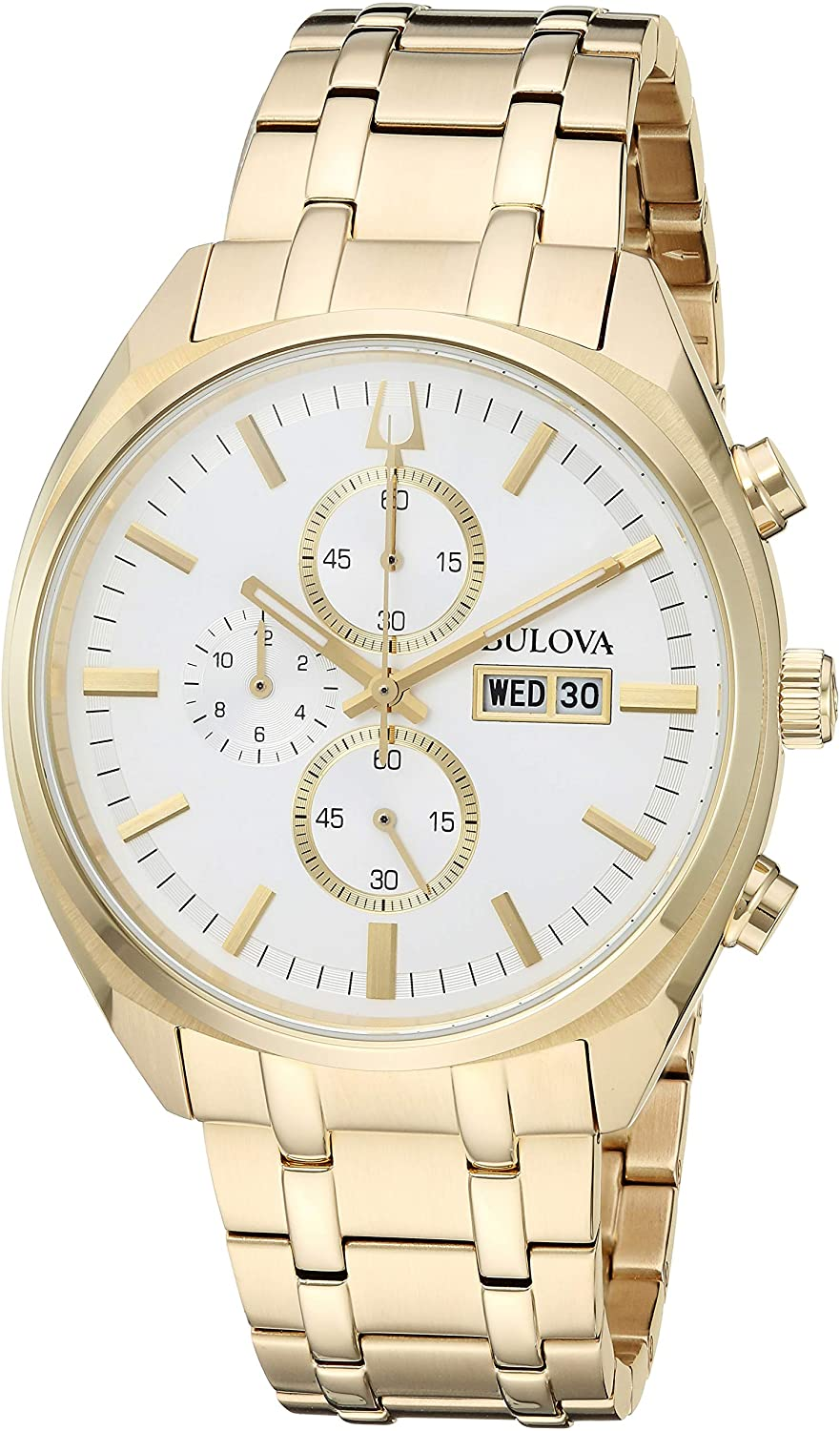 Bulova Gold Tone Dress Watch