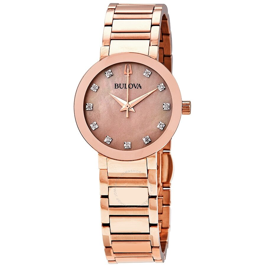 Bulova Rose Gold Tone Watch