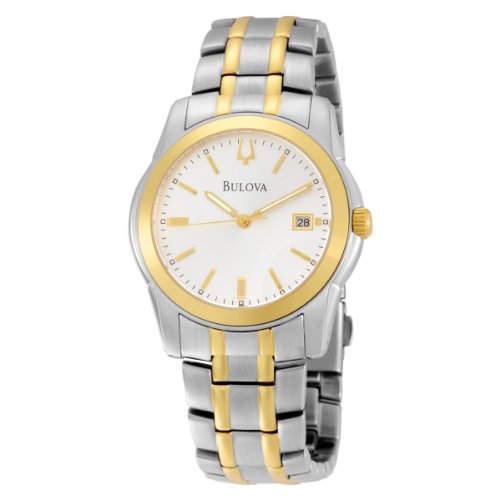 Bulova Yellow and Silver Tone Classic Watch