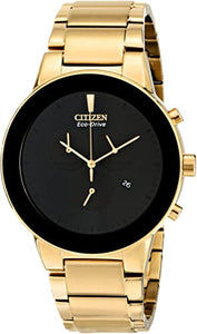Citizen Eco Drive Gold Tone Chronograph Watch