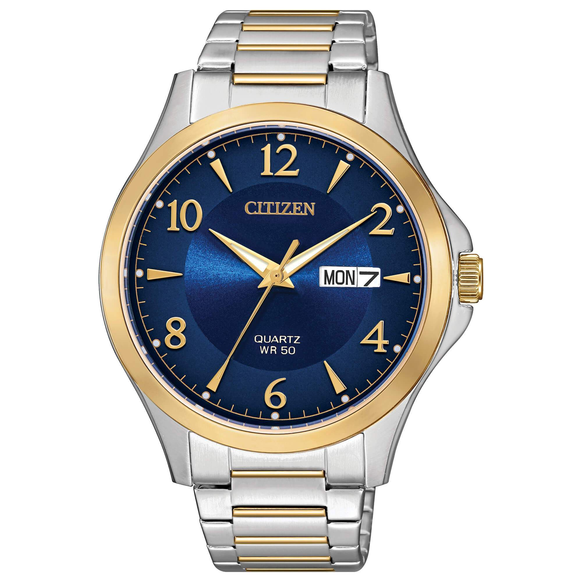 Citizen Quartz Two Tone Stainless Steel Watch