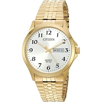 Citizen Quartz Gold Tone Watch