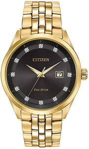 Citizen Corso Eco Drive Diamond Watch