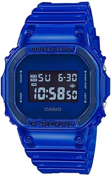 G Shock Blue Digital Watch
