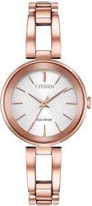 Citizen Eco Drive Rose Tone Watch