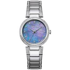 Citizen Eco Drive Silhouette Mother of Pearl Watch