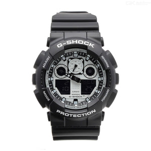 G Shock Black & White Watch