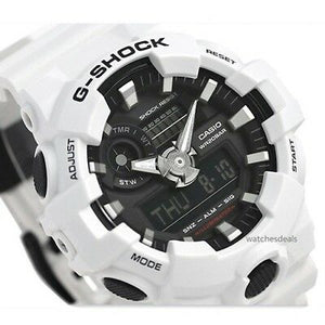 G Shock White & Black Watch