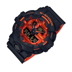 G Shock Vibrant Orange & Black Watch