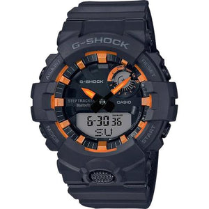 G Shock Black & Orange Watch