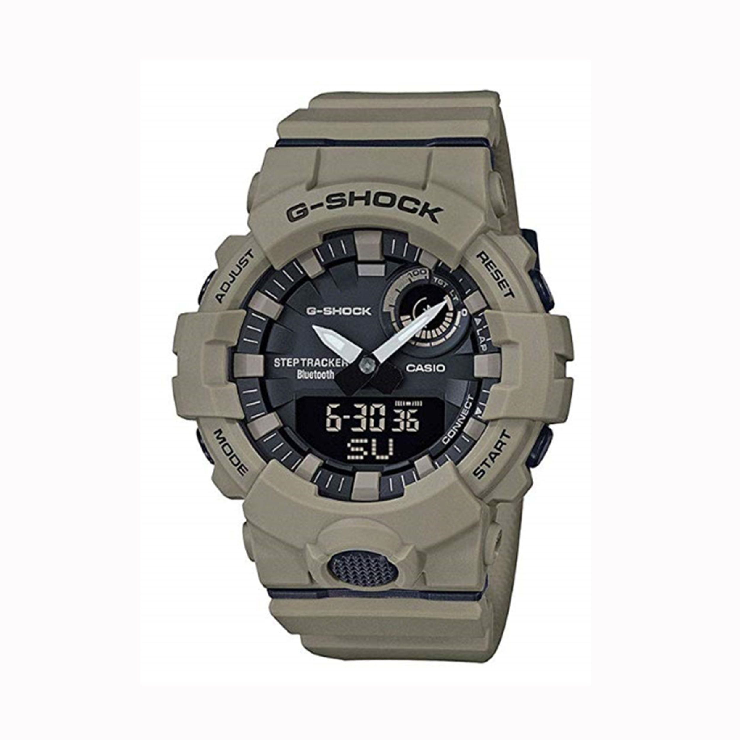 G Shock Step Tracker Military Tan Watch