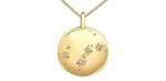 Load image into Gallery viewer, 10K Yellow Gold Zodiac Diamond Necklace