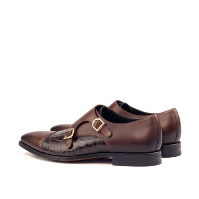 Aubry Double Monk Shoes