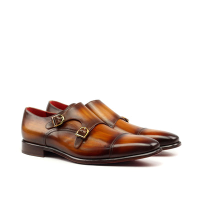 Comboni Double Monk Shoes