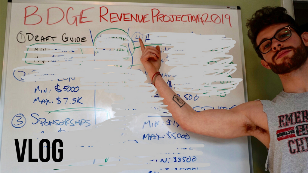 2019 BDGE Revenue Projections | January 2019 Vlog