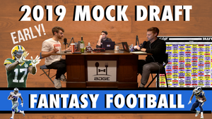 2019 Fantasy Football | First Round Mock Draft 12-Team
