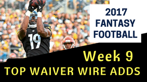 Fantasy Football Week 9 - Top Waiver Wire Adds