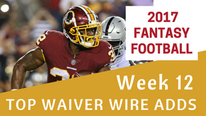 Fantasy Football Week 12 - Top Waiver Wire Adds