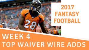 Fantasy Football Week 4 - Top Waiver Wire Adds