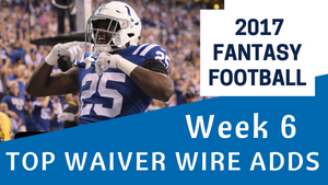 Fantasy Football Week 6 - Top Waiver Wire Adds