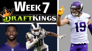 Week 7 - Top DFS Picks and DraftKings Lineups