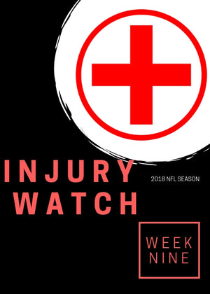 Week 9 Injury Watch