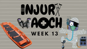 Week 13 Injury Watch