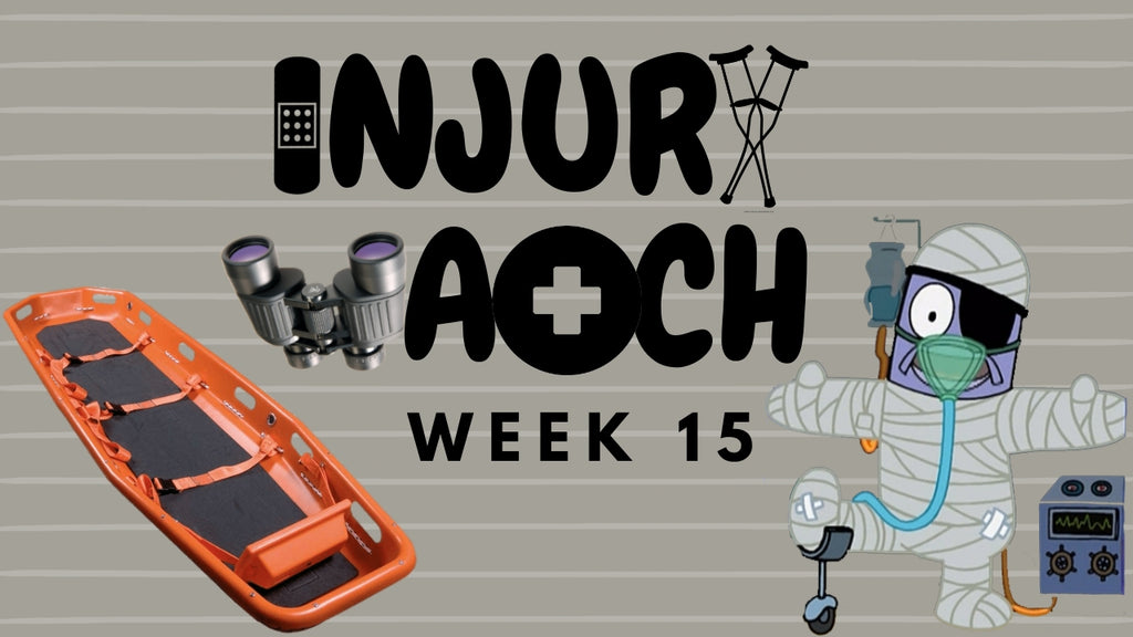 Week 15 Injury Watch