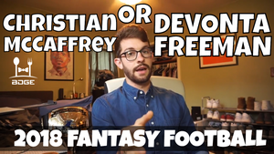 Christian McCaffrey vs. Devonta Freeman - In The Muck Monday | Fantasy Football 2018