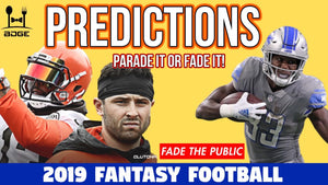 Predictions for the Top Fantasy Football Picks in 2019