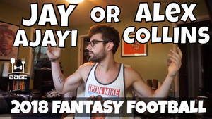 Alex Collins vs. Jay Ajayi - In the Muck Monday | 2018 Fantasy Football