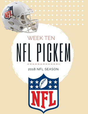Week 10 Pickem'