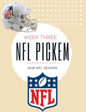 Week 3 Pickem'