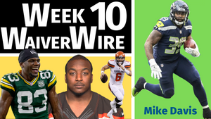 Week 10 - Top Waiver Wire Pickups