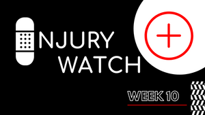 Week 10 - Fantasy Football Injury Watch