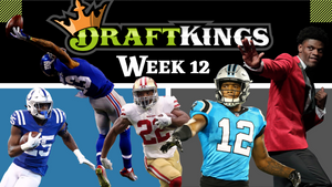 Week 12 - Top DFS & DraftKings Players