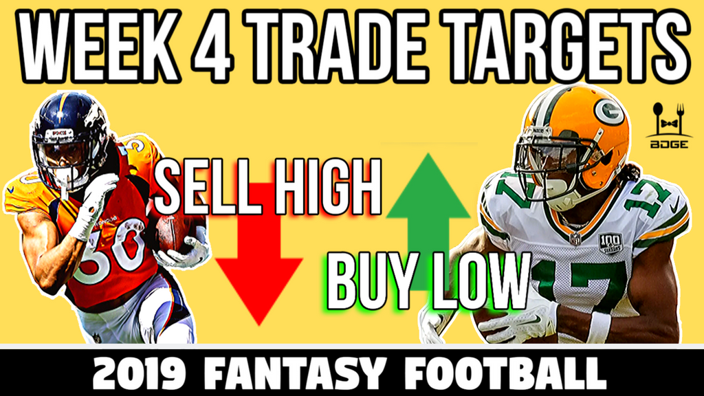 Week 4 Fantasy Football Trade Targets