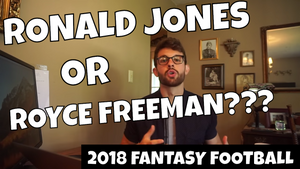 Ronald Jones vs. Royce Freeman | In the Muck Monday | Fantasy Football 2018