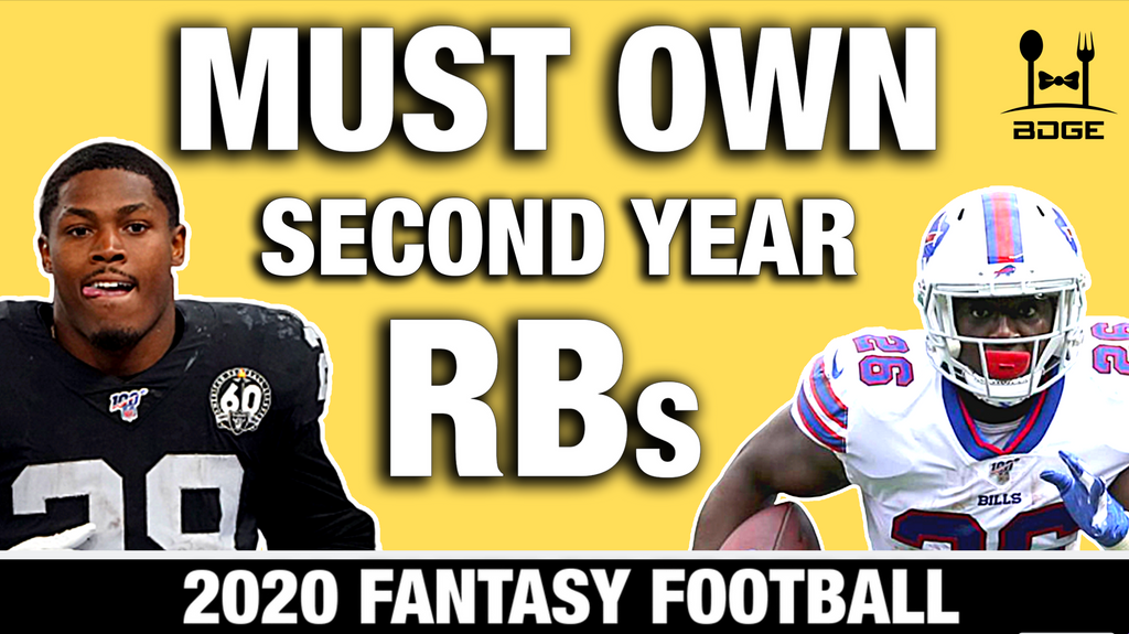 Must Draft Sophomore Running Backs in 2020 Fantasy Football